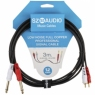 SZ-Audio 2 RCA - 2X 6,3 3m